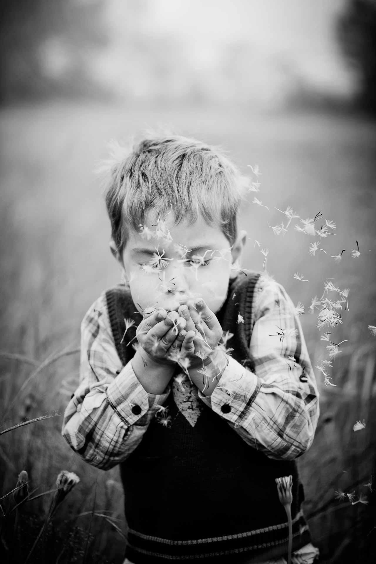 Billeder af børn i Østjylland