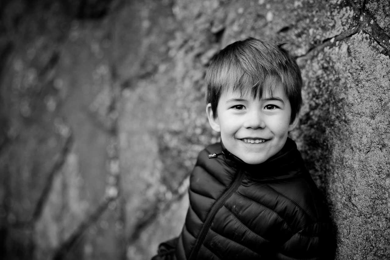 børnefoto taget ved Aarhus