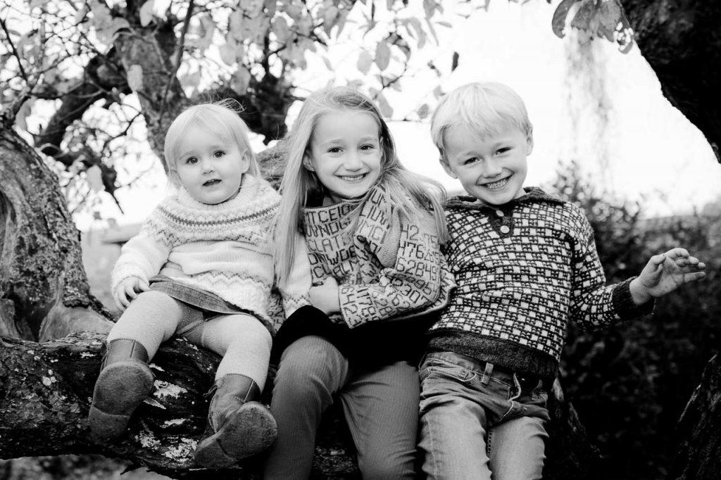 Familie og søskende fotografering