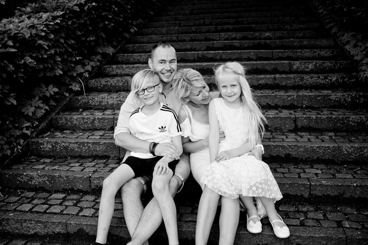 Fotografering af grupper og familie