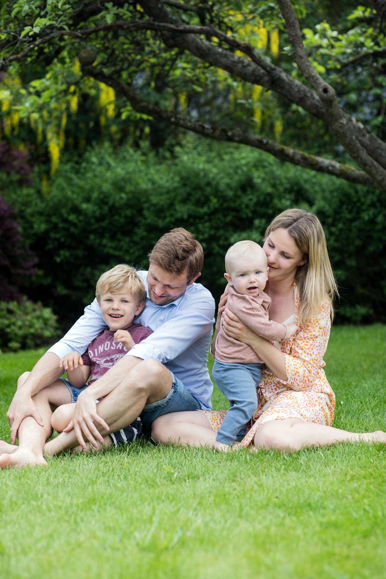 Fotografering af familie