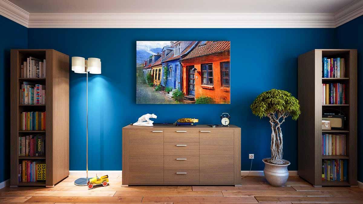 Æstetiske billeder af møbler og interiør